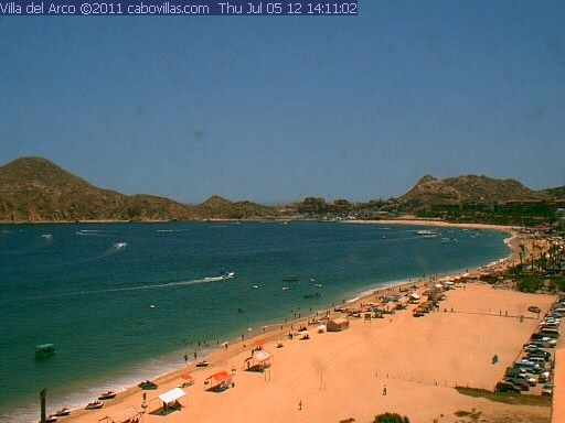 Live Webcam View Of Medano Beach In Cabo San Lucas Mexico Medano Is Vacation