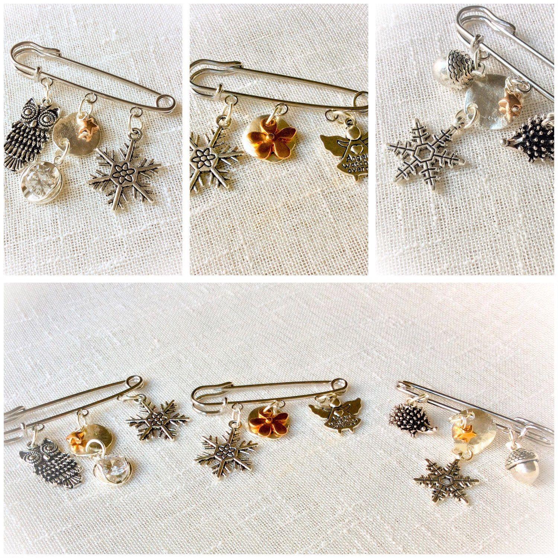 Gorgeous kilt pin brooches, ideal as pashmina shawl pin. Safety pin ...