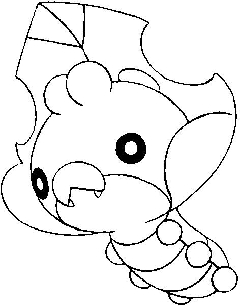 Sewaddle Pokemon Coloring Pages Pokemon Coloring Pokemon Drawings