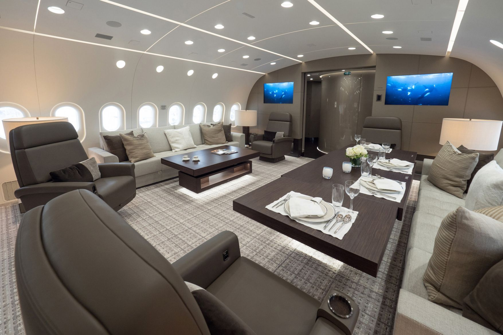 hainan airlines boeing 787 dreamliner private jet