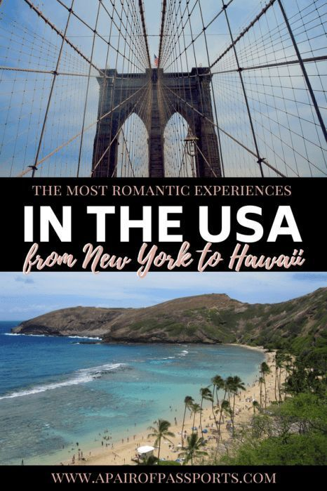 The Most Romantic Experiences In The USA
