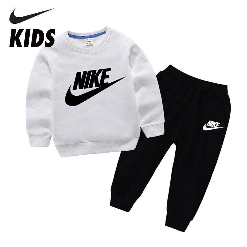 Nike Conjuntos De Ropa De Algodón Para Niños Chándales Deportivos Para Niños Atuendo Infantil Sudaderas Con Capucha Para Niños Trajes Deportivos Para Chicos Conjuntos De Ropa Trajes Deportivos Ropa Para Niños