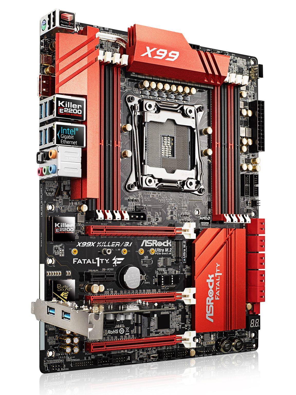 Fatal1ty X99X Killer/3 1 / Gaming motherboard | d&i awards