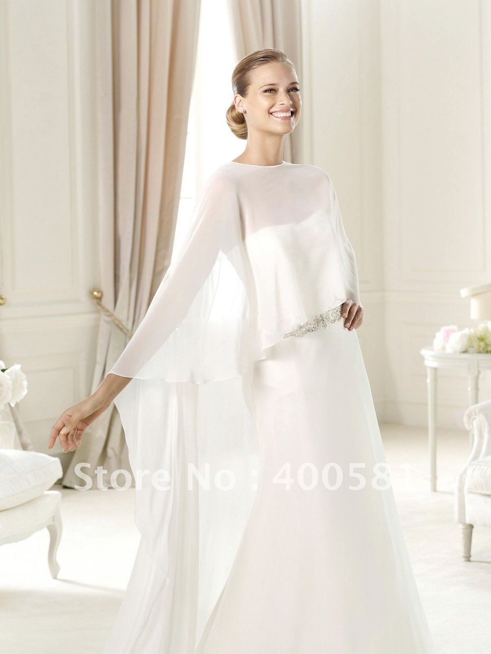 cape bridal dresses - Google Search | Wedding Dress Inspiration ...