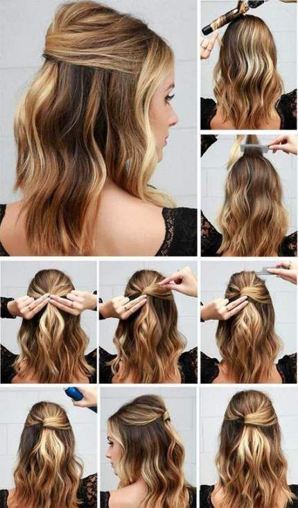Best Hairstyles Party Tutorial Short Hair Ideas Work Hairstyles Easy Hairstyles Long Hair Styles