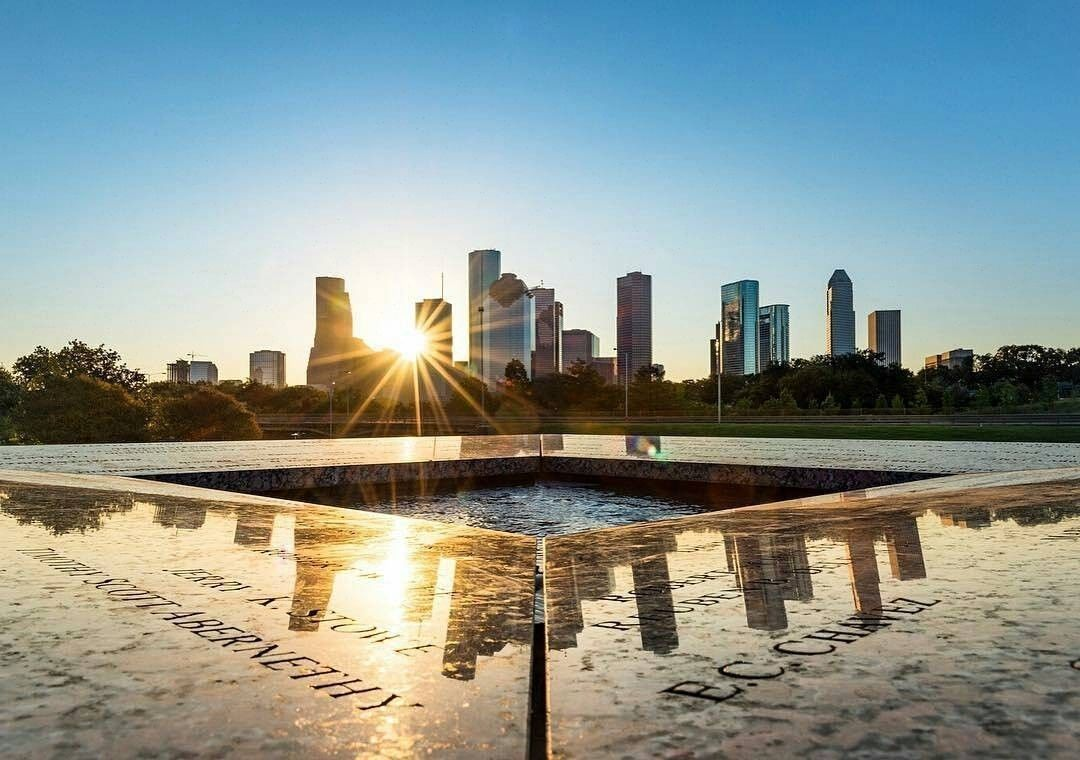 Sunrise Or Sunset Anyone Know Where The Photo Was Taken Houston Texas Business Motivation University Of Houston Texas Business Commercial Real Estate