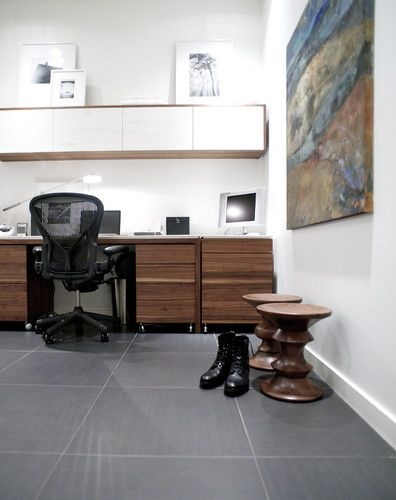 West 3rd Residence - modern - home office - vancouver - Gaile ...