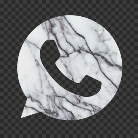 Hd White Marble Aesthetic Wa Whatsapp Logo Icon Png Logo Icons Icon Png
