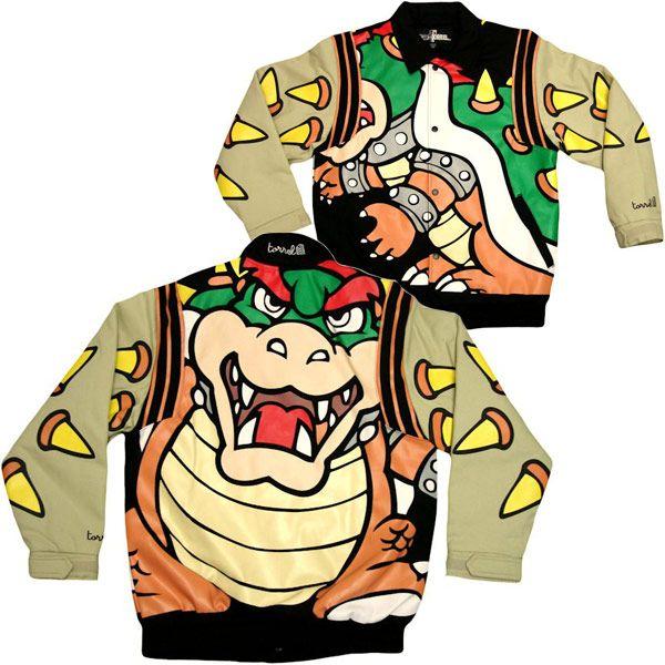 Nintendo bowser jacket