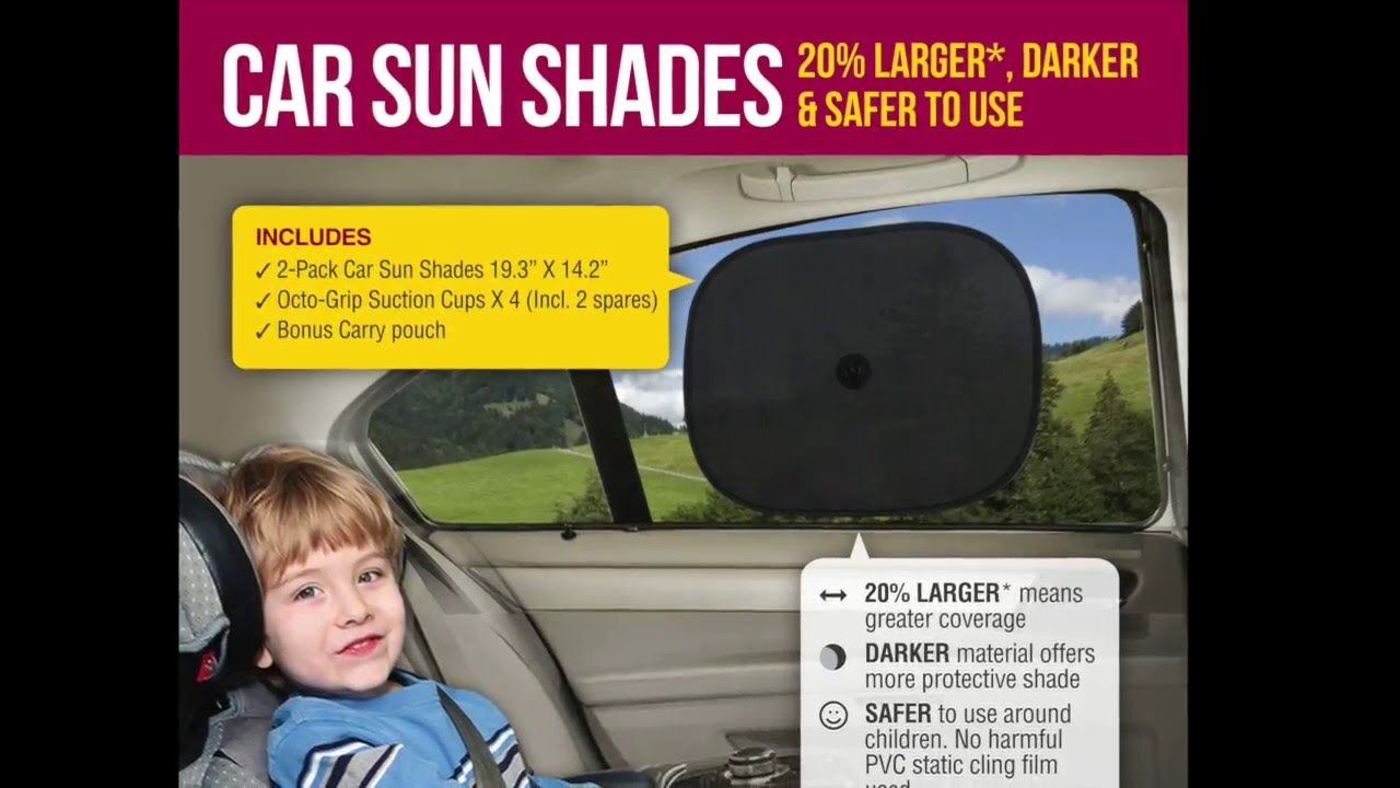 Car window coverings  car side windows shade  this is the darkest side window shade