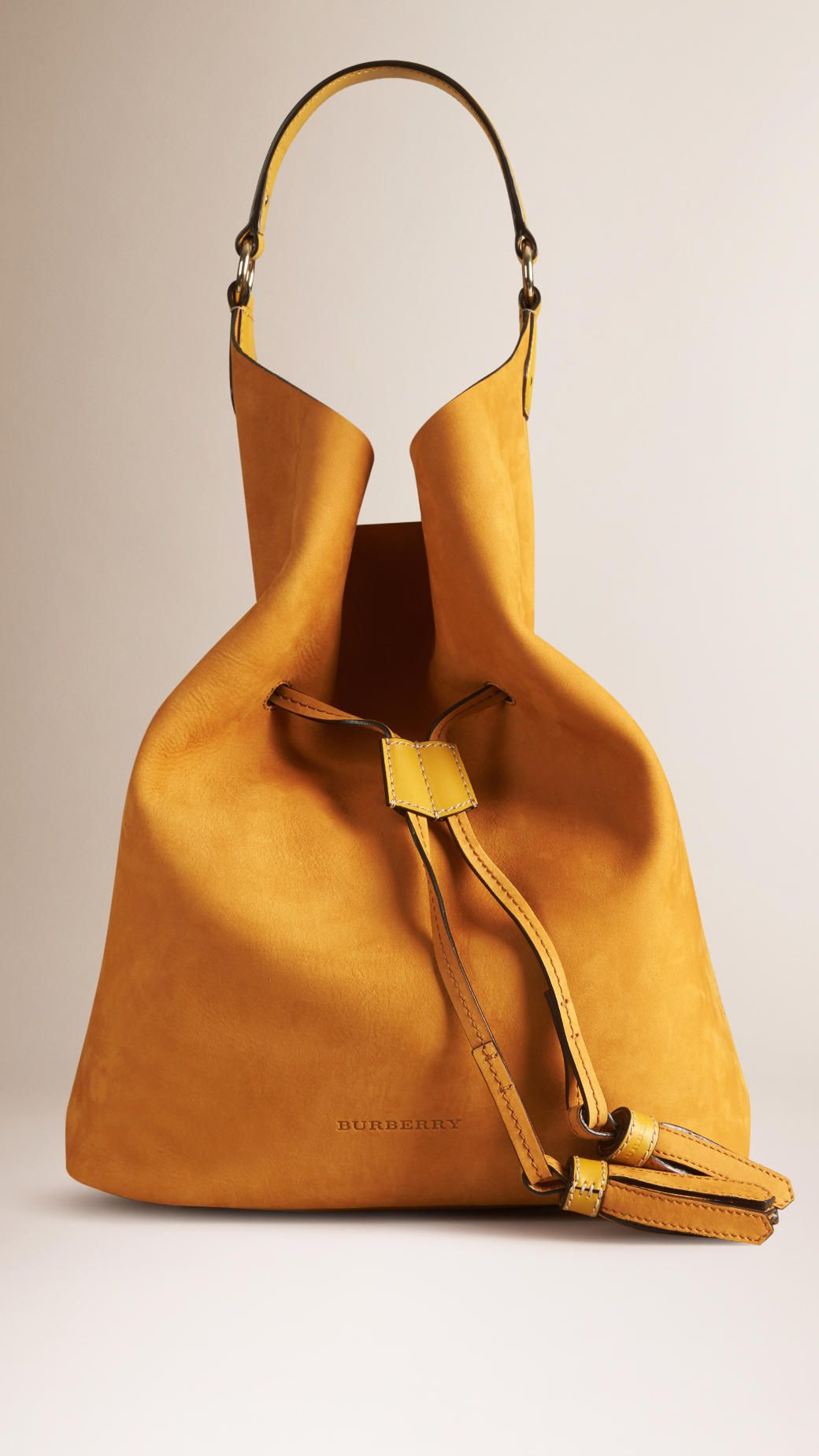 cc3751adec39 ... shoulder bags and more leather bags. The Large Ashby in Nubuck Light  Copper Saffron Yellow