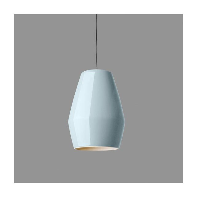 Lampe Suspension Bell Bleu Clair en Porcelaine Northern Lighting NORTHERN LIGHTING