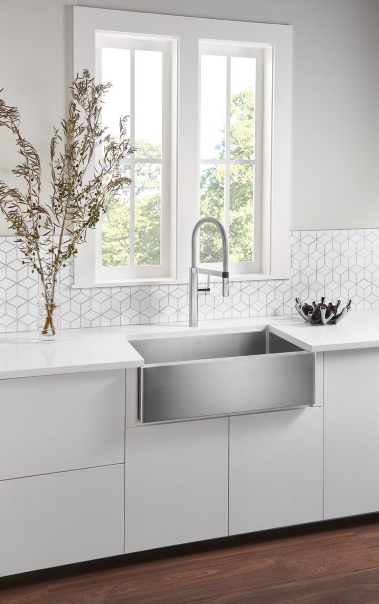 Spülen Küche The Nostalgic Apron Front Sink Makes A Modern Comeback Design