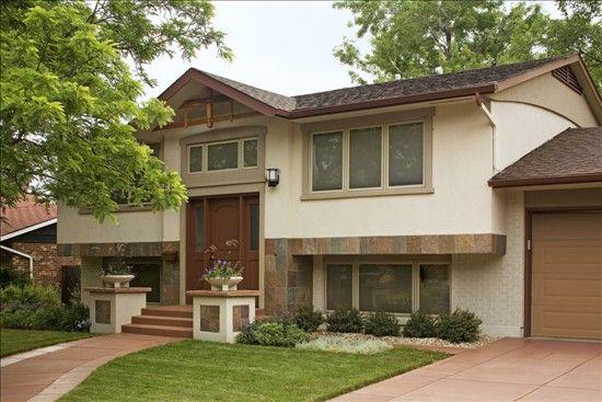 spelndid remodel ideas for split level homes. Better Homes and Gardens  One of the best split level renovations I ve