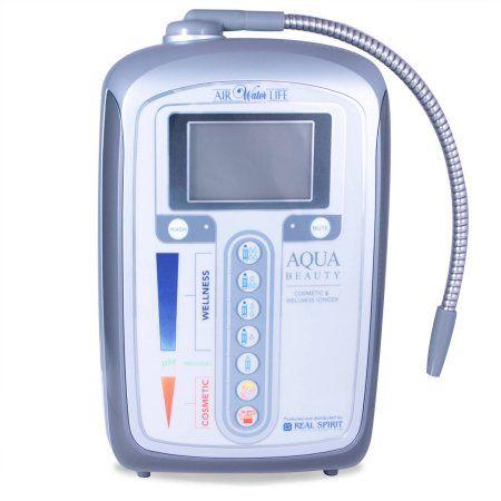 Aqua-Beauty Alkaline Water Ionizer, Silver