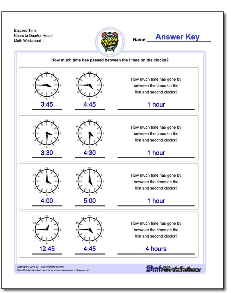 hight resolution of Printable PDF Analog elapsed time worksheets   Elapsed time worksheets