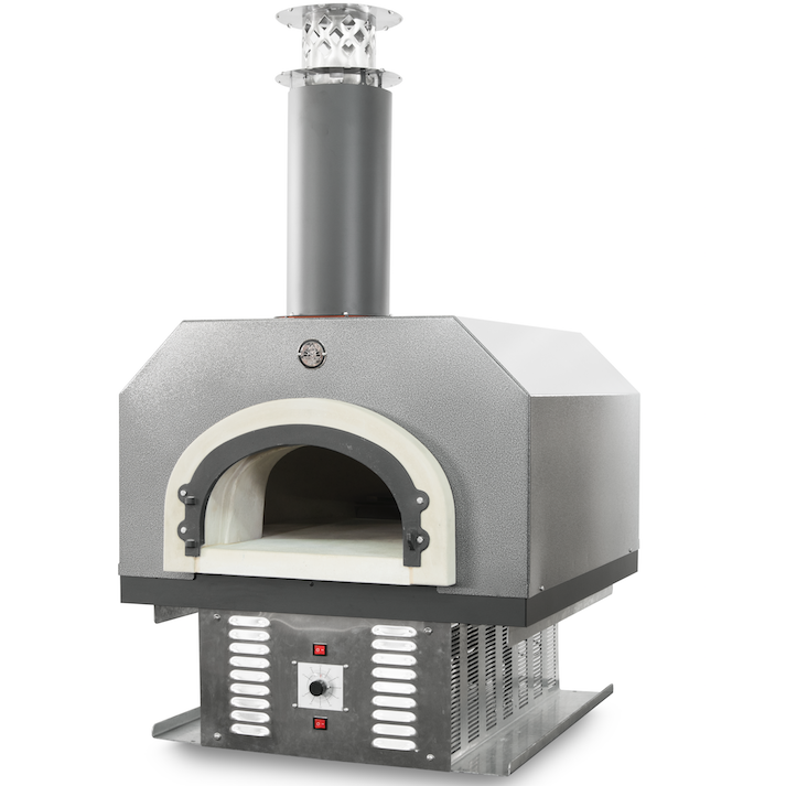 Chicago Brick Oven Cbo 750 Hybrid Countertop Gas And Wood Fired