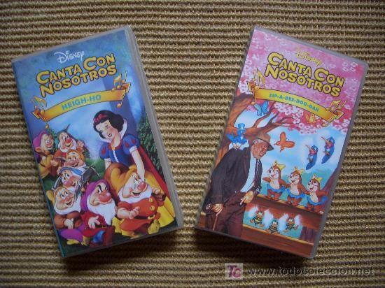 Disney Sing Along Songs Heigh Ho And Zip A Dee Doo Dah Spanish Spain Sing Along Songs Disney Marvel Disney