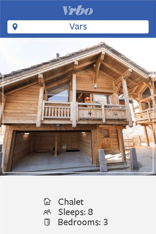Vacation Chalet in Vars