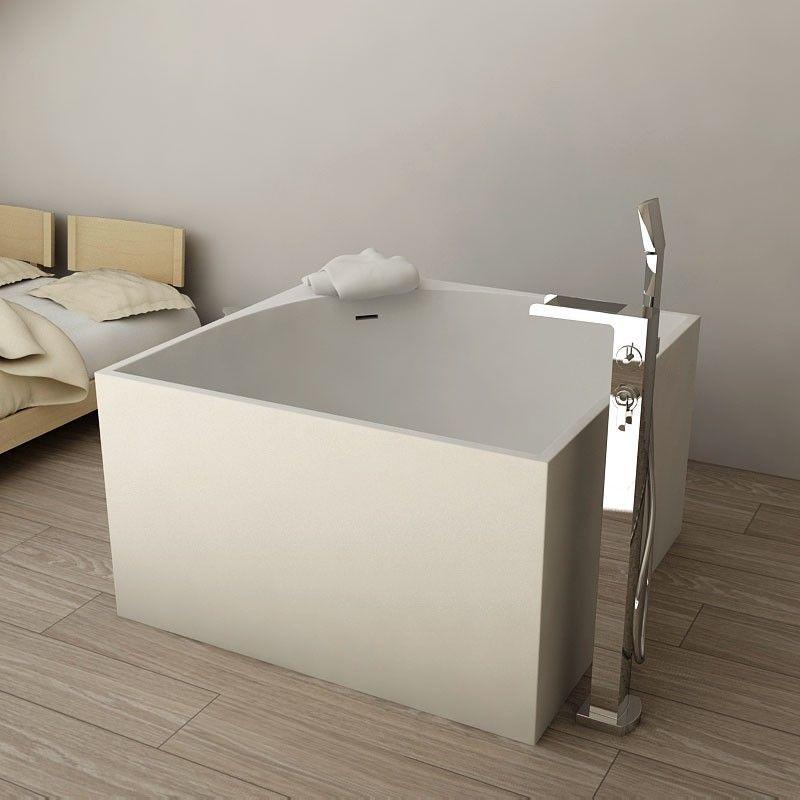 Baignoire Ilot Mineral, 105x105 cm | Bathrooms | Pinterest | Minerals