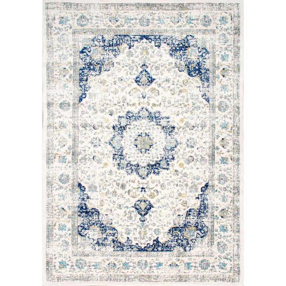 Nuloom Verona Blue 9 Ft X 12 Ft Area Rug Blue Area Rugs Area Rugs Colorful Rugs