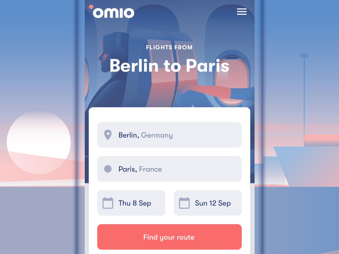 Omio App(이미지 포함)
