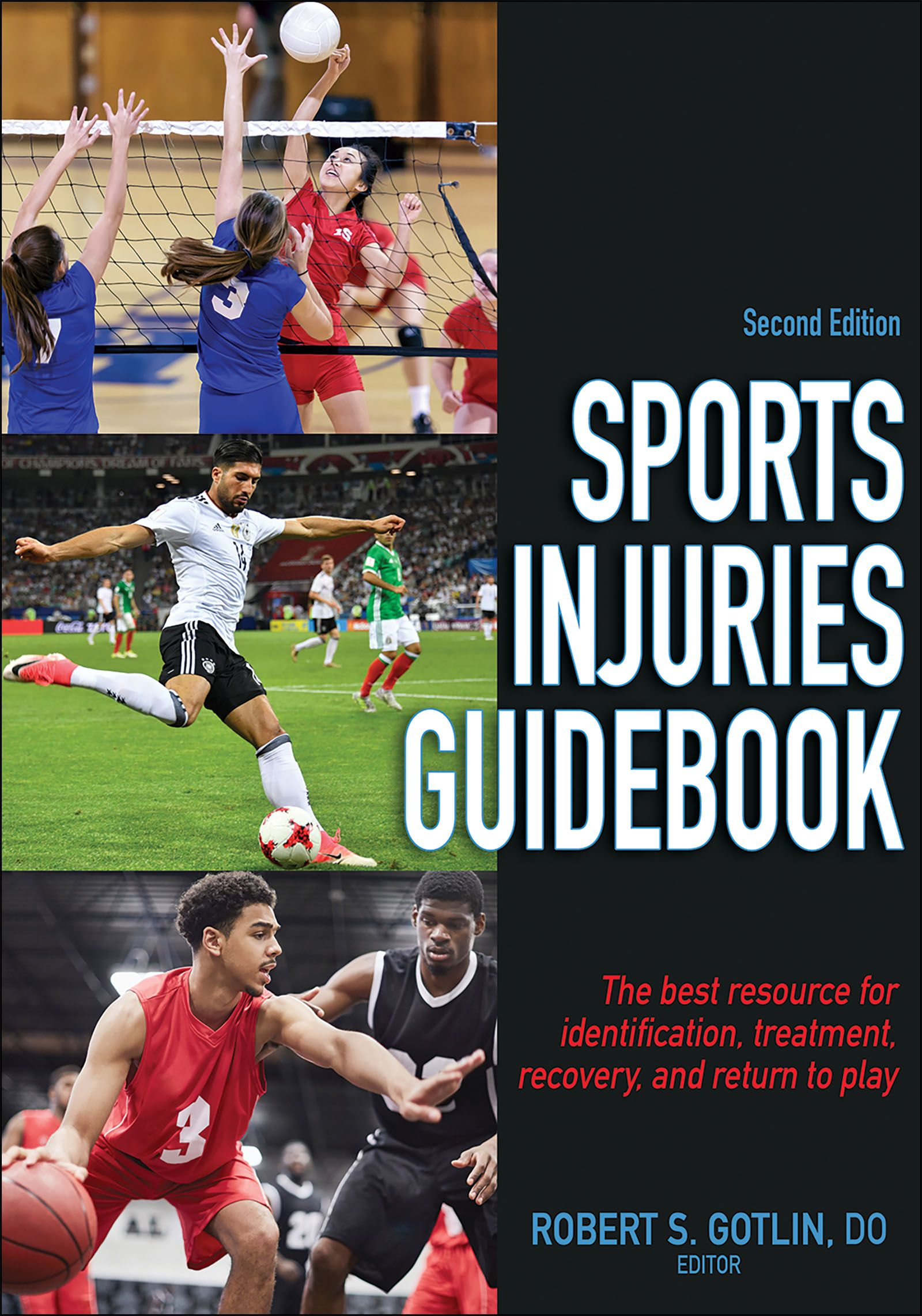 Sports Injuries Guidebook helps you get back in the game
