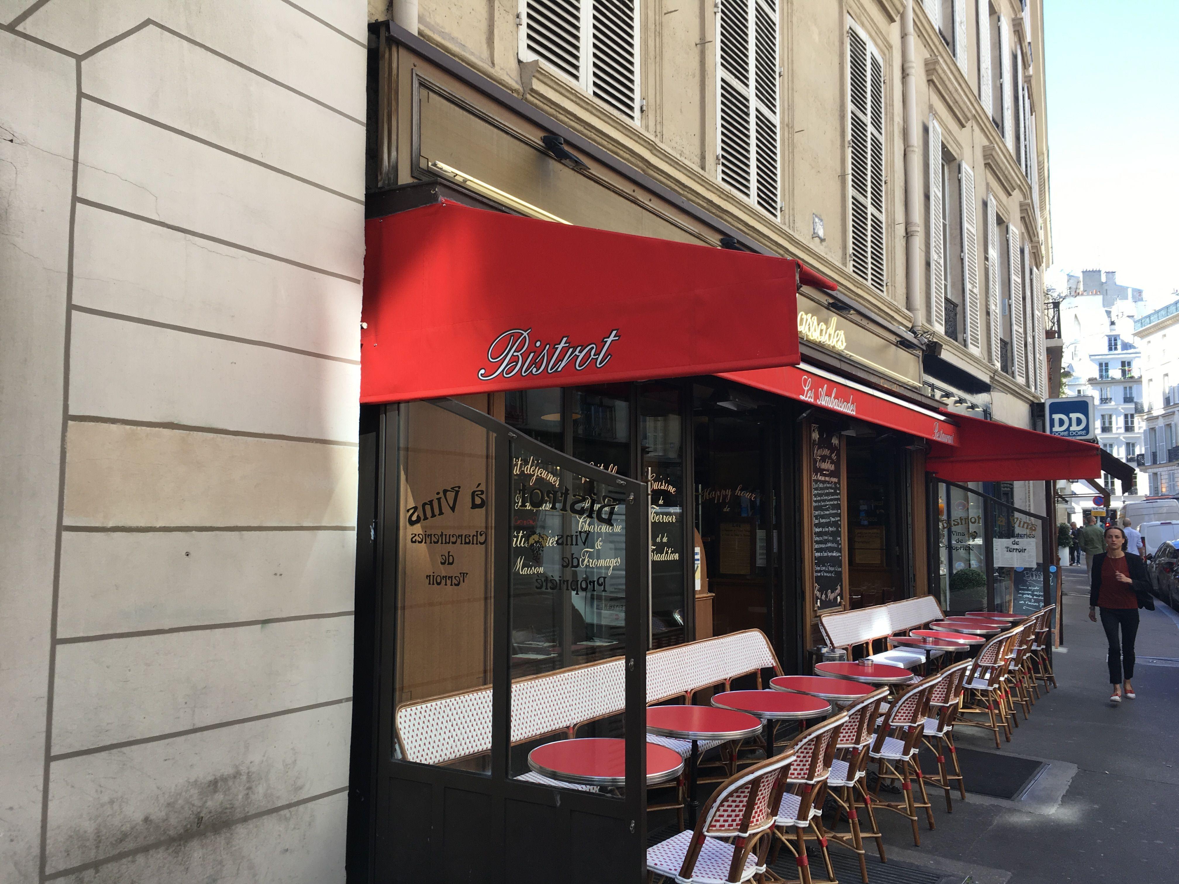 Cafe Les Ambassades 75 Rue Du Bac Paris 07 Rue Du Bac Paris Cafe De Paris Rue Du Bac