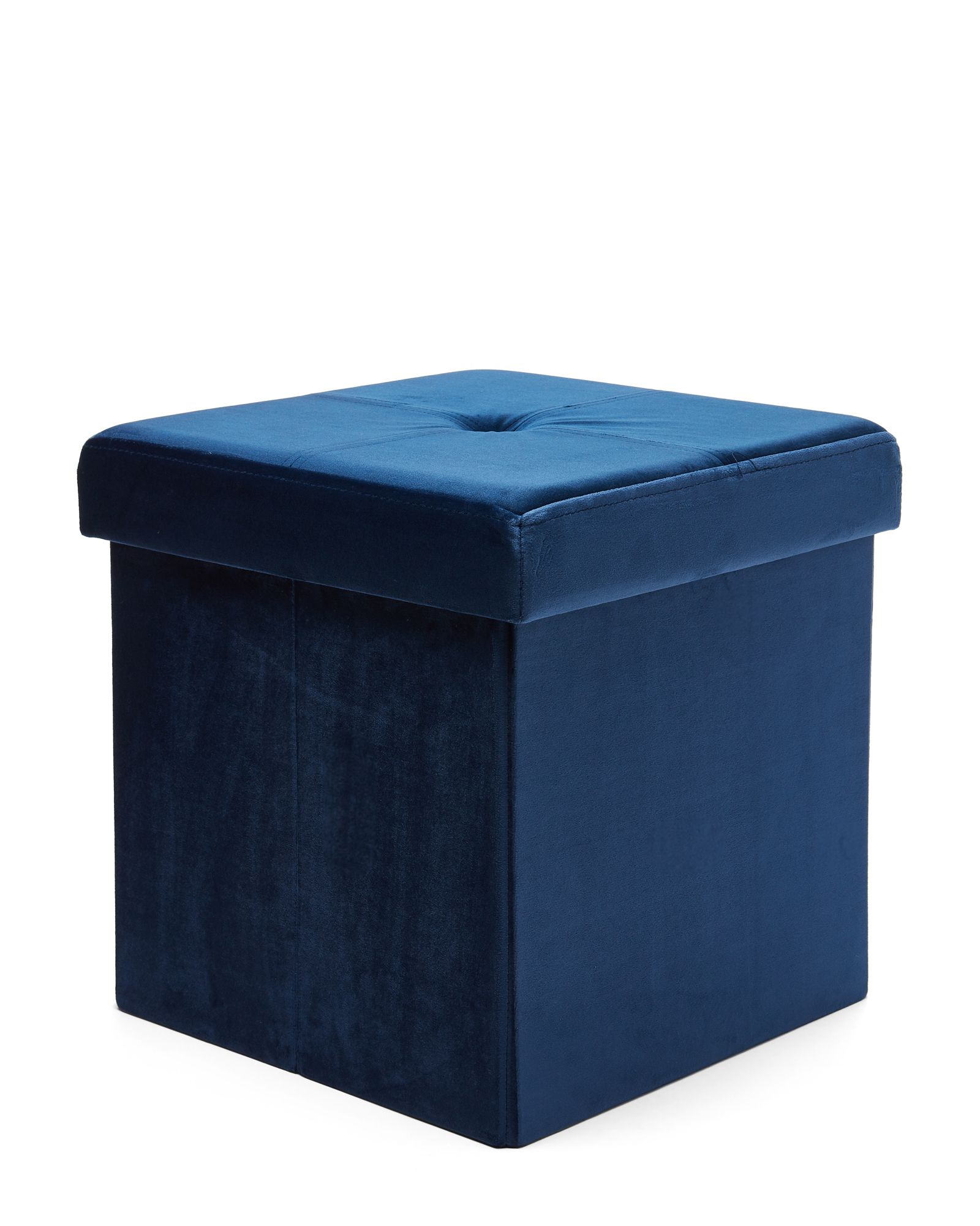 Remarkable Royal Navy 15 Collapsible Storage Ottoman In 2019 Ottoman Gmtry Best Dining Table And Chair Ideas Images Gmtryco
