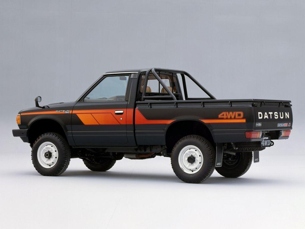 Datsun Pickup 4wd Regular Cab Jp Spec 720 1980 85 Camioneta Nissan Carros Y Camionetas Camionetas