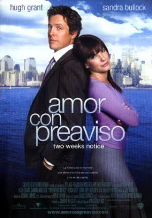 Amor Con Preaviso Peliculas De Comedia Amor Con Preaviso Peliculas Romanticas