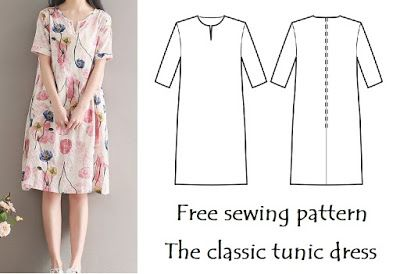 6 Free Easy Sew Tunic Patterns - diy Thought