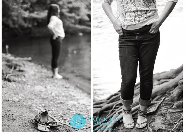 Texture Jeans And Lace Layers Leather Belt Beaded Sandals Amy Kate Photography Bemidji Northern M Senior Photographers Senior Portraits Senior Photography