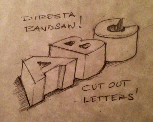 How to cut out letters on the bandsaw bandsaw crafts pinterest how to cut out letters on the bandsaw bandsaw boxletter patternswoodworking spiritdancerdesigns Images