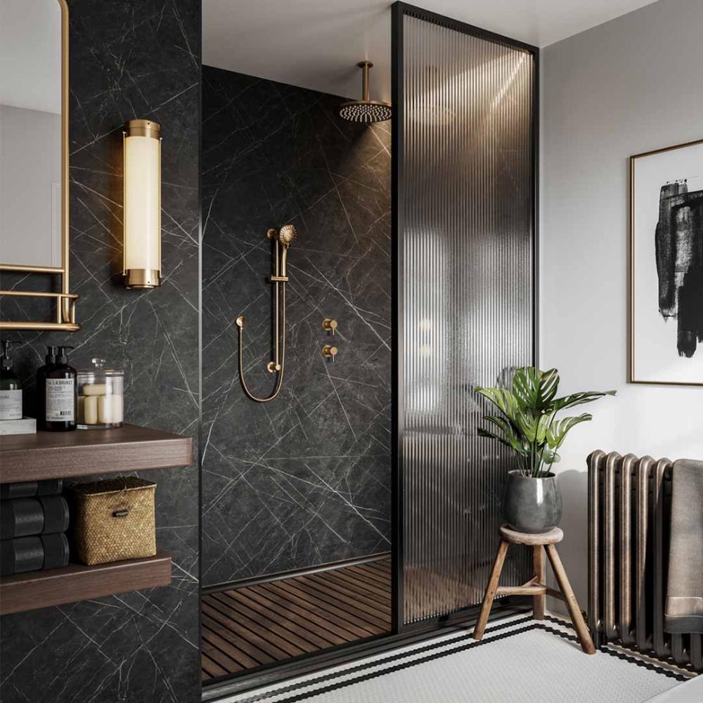 Bathroom Ideas   Multipanel Gallery   Black marble ...