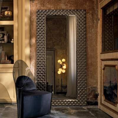 Fiam Veblèn Pasha specchio grande da parete di design made in Italy ...