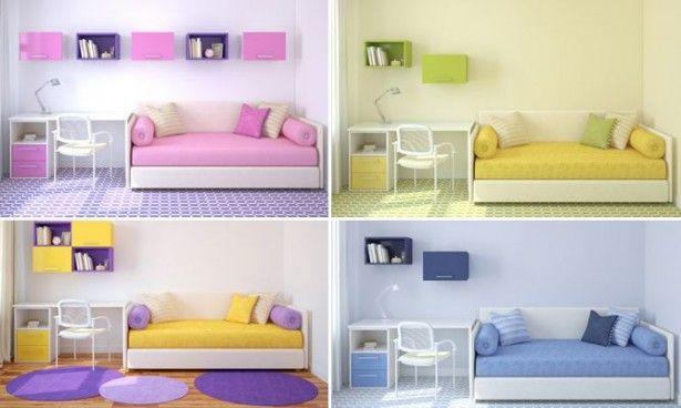 habitaciones pequeas decoradas juveniles Buscar con Google