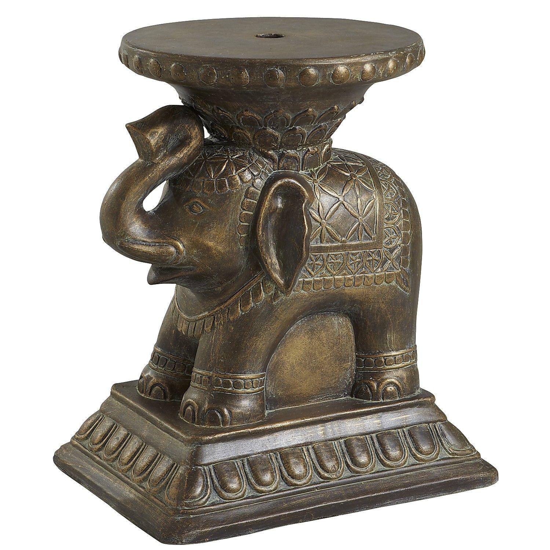 Superbe Elephant Umbrella Table   Pier 1 Imports