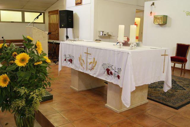 Bordados Esmeralda: Mantel de Altar