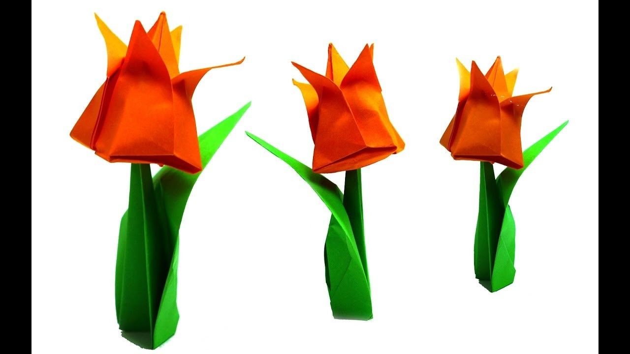 Origami Flower Easy Paper Flowers Diy Beauty And Easy Easy