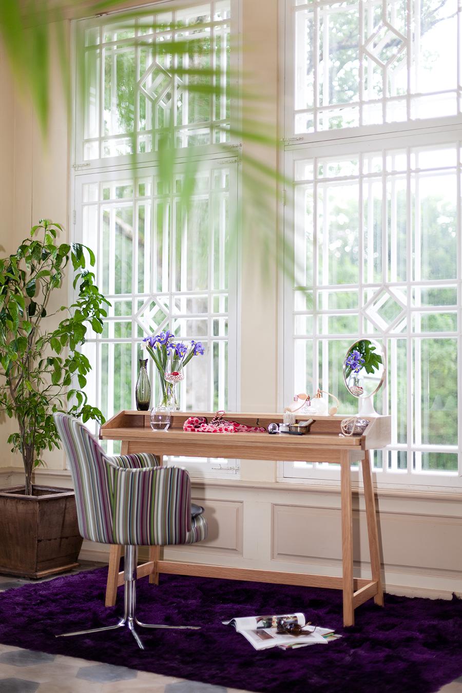 Gemütliches Arbeitszimmer gemütliches häusliches arbeitszimmer mit viel grün und holz