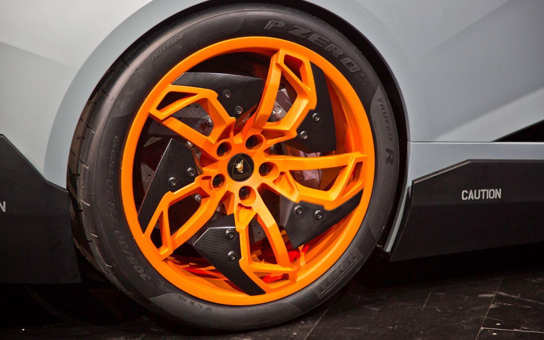 Vehicle · Lamborghini Egoista Concept Wheels