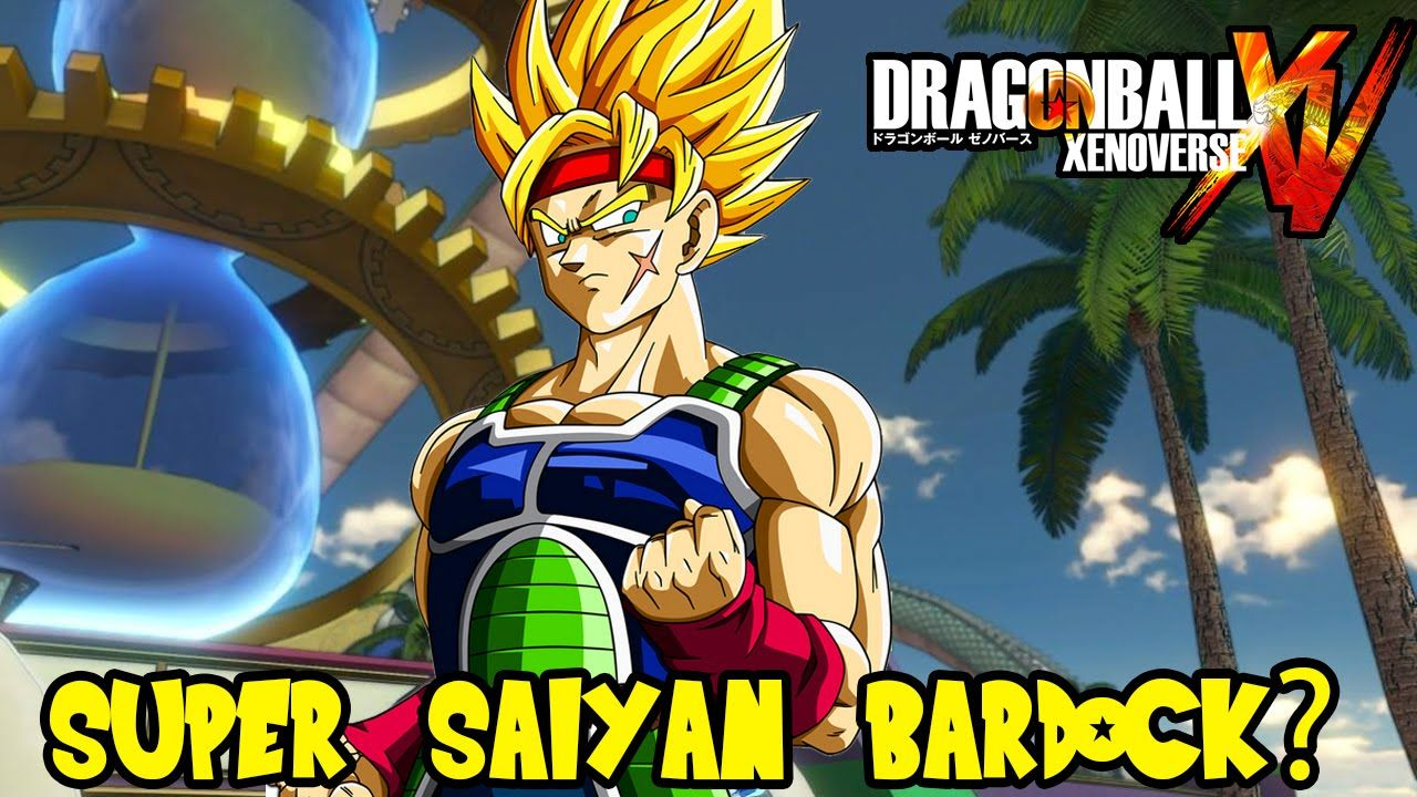 Dragon Ball Xenoverse Super Saiyan Bardock Playable Ssj Goten