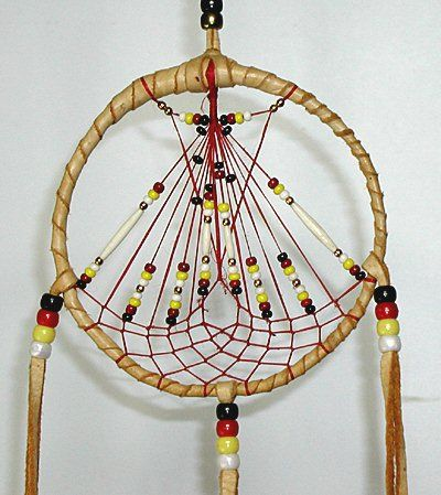 Sioux Indian Dream Catchers Authentic Native American Lakota Indian beaded Dreamcatcher 13