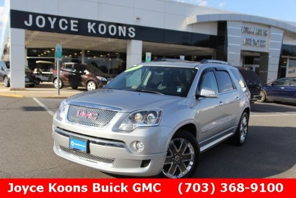 Used 2012 Gmc Acadia For Sale In Manassas Va Truecar Jennis