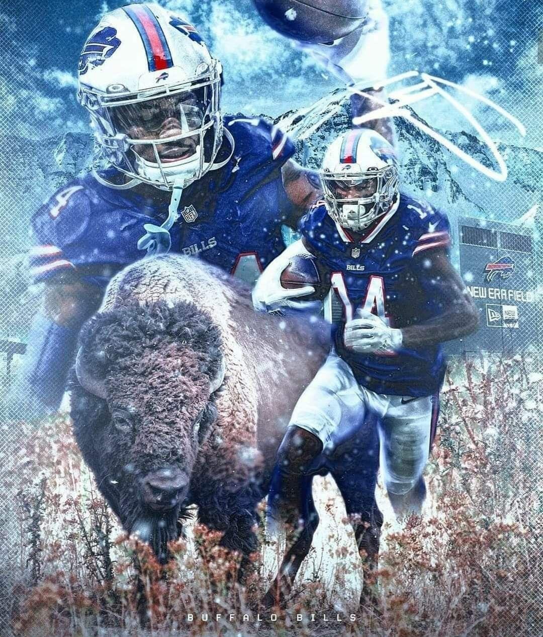 Stefon Diggs Run With The Herd Buffalo Bills Football Bills Football Titans Football