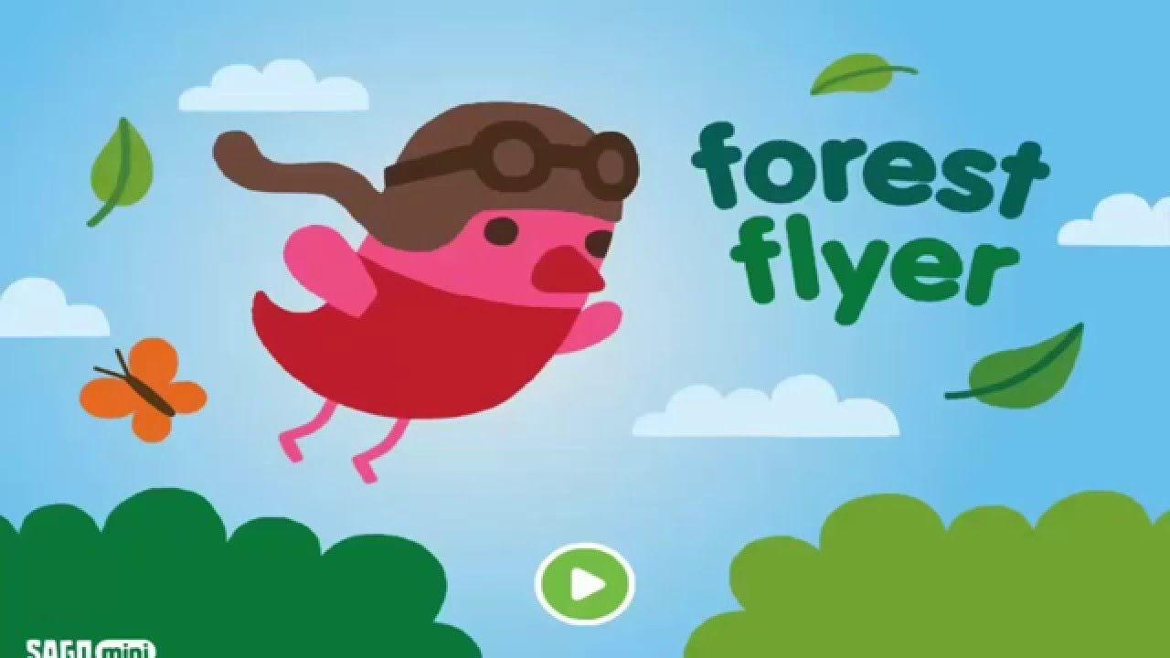 Forest Flyer Sago Mini Best App Youtube Kids