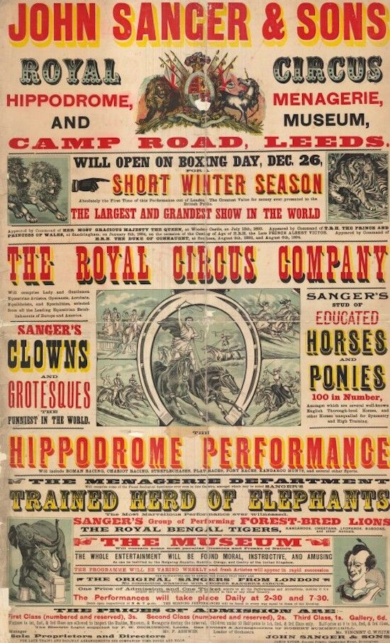 The Wood Type Poster History Of Graphic Design Vintage Circus Posters Wood Type Poster Circus Poster