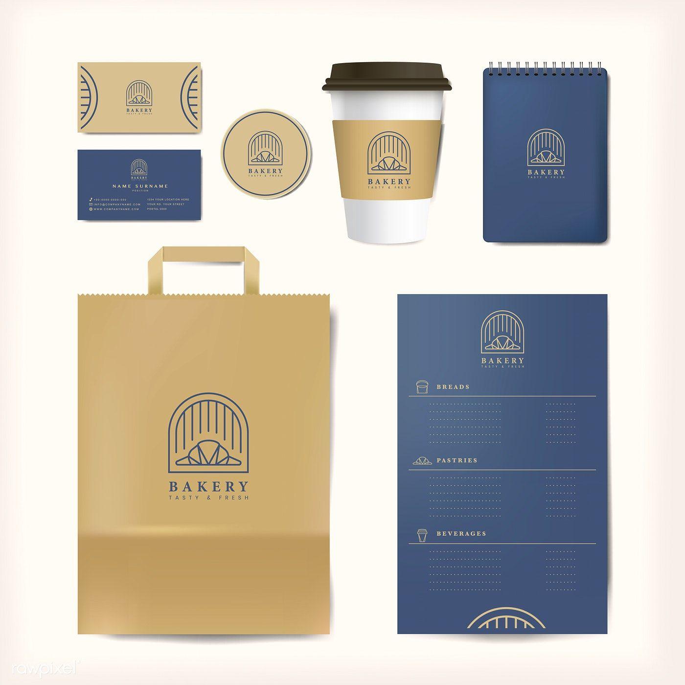 Download Paper Branding Mockup Vector Set Free Image By Rawpixel Com Branding Mockups Farm Logo Design Business Card Mock Up