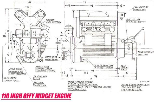offenhauser the greatest racing engine ever built rod authority rh pinterest com